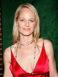 Helen Hunt at the New York opening night of 'Light In the Piazza