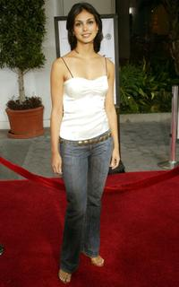 Morena Baccarin at the premiere of