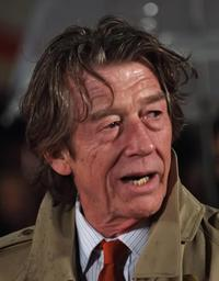 John Hurt at the Central London premiere of
