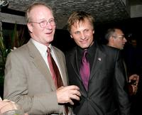 William Hurt and Viggo Mortensen at the dinner reception for the screening of