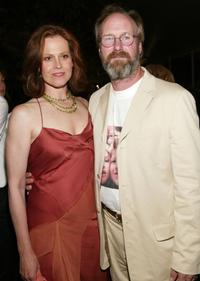 William Hurt and Sigourney Weaver at the pre-screening dinner for the world premiere of