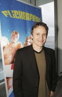 Damon Herriman at the 14th Filckerfest International Short Film Festival.