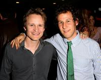 Damon Herriman and Ben Lee at the UK screening of