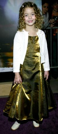 Sasha Pieterse at the WB Network's 2003 Winter Party.