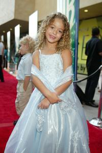 Sasha Pieterse at the WB Television Network's 2002 Summer Party.