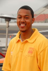 Wesley Jonathan at the Redline Race For A Cause charity car race.