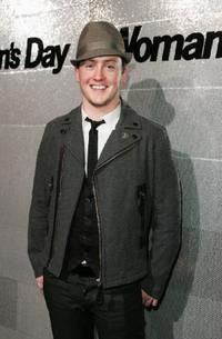 Matt Lee at the Women's Day 60th Anniversary Celebrations.