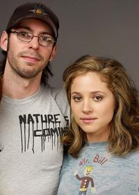 Martin Starr and Margarita Levieva at the 2009 Sundance Film Festival.