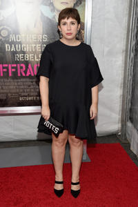 Writer Abi Morgan at the New York premiere of