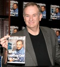 Bill O'Reilly at the signing of