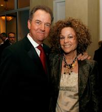 Gregory Itzin and wife Judie at the 57th annual ACE Eddie Awards cocktail reception.