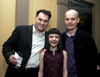 Zeljko Ivanek, Michael Stuhlbarg and Madeleine Martin at the 2005 New York Drama Critics' Circle Awards cocktail party.