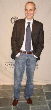 Zeljko Ivanek at the Academy of Television Arts and Sciences and the Writers Peer Group Emmy nominee party.
