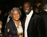 Rachel Robinson and Michael Kenneth Williams at the 35th Anniversary of the Jackie Robinson Foundation.