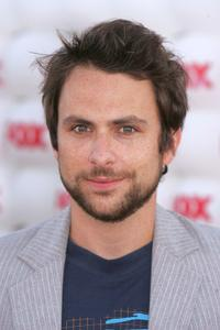 Charlie Day at the Fox All-Star Television Critics Association party.