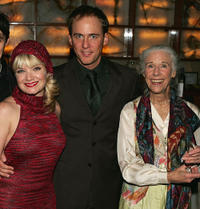 Mary Catherine Garrison , Neal Huff and Frances Sternhagen at the after party of the opening night of