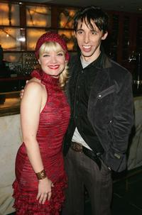 Mary Catherine Garrison and Kevin Cahoon at the after party of the opening night of