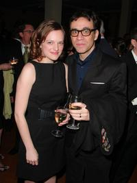Elisabeth Moss and Fred Armisen at the Natural Resources Defense Council's 11th Annual Forces For Nature Benefit.