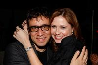 Fred Armisen and Jenna Fischer at the after party of the Gen Art Screening of