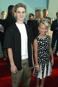 Scott Terra and Jenna Boyd at the premiere of