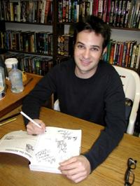 Danny Strong at the autograph party for the television series