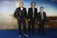 Kevin Spacey, Director Jay Roach and Danny Strong at the photocall of