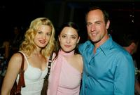 Brooke D'Orsay, Kate Kelton and Christopher Meloni at the after party of the premiere of