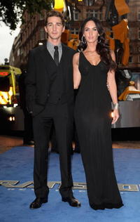 Shia LaBeouf and Megan Fox at the UK premiere of