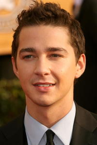 Shia LaBeouf at the 13th annual Screen Actors Guild Awards in L.A.