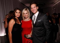 Nikki Reed, Jennie Garth and Peter Facinelli at the 15th Annual Women In Hollywood Tribute hosted by ELLE Magazine.