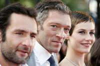 Gilles Lellouche, Vincent Cassel and Cecile de France at the screening of