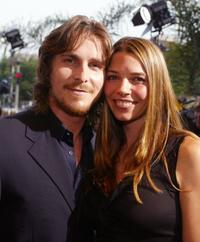 Christian Bale and his wife Sibi at the premiere of