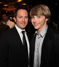 Thomas Lennon and Sterling Knight at the after party of the premiere of
