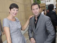 Kerri Kenney and Thomas Lennon at the premiere of
