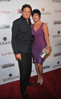 Bruce Jenner and Kris Jenner at the season two launch of