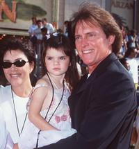 Bruce Jenner and his Family at the premiere of
