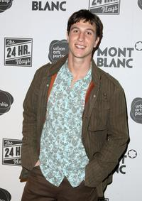 Pablo Schreiber at the after party for opening night of 8th Annual 24 Hour Plays on Broadway.