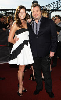 Eric Stonestreet and Guest at the 2010 ARIA Awards in Australia.