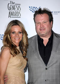 Jessalyn Gilsig and Eric Stonestreet at the 24th Genesis Awards in California.