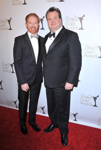 Jesse Tyler Ferguson and Eric Stonestreet at the 2011 Writers Guild Awards in California.