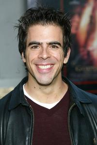 Eli Roth at the world premiere of