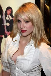 Lucy Punch at the world premiere of