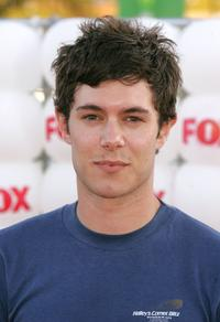 Adam Brody at the Fox All-Star Television Critics Association party.