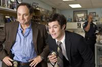 Kevin Pollak as Hunsaker and Adam Brody as Barry Mangold in