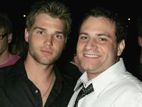 Mike Vogel and director Matthew Cole Weiss at the premiere of