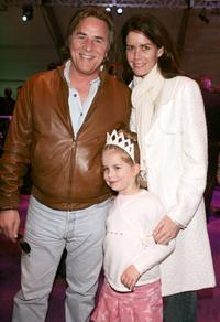 Don Johnson, Afterton Grace Johnson and Kelley Johnson at the after party of the premiere of