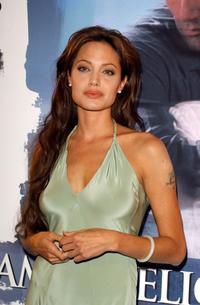 Angelina Jolie at the world premiere of