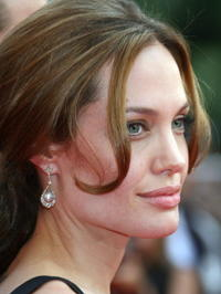 Angelina Jolie at the Cannes premiere of