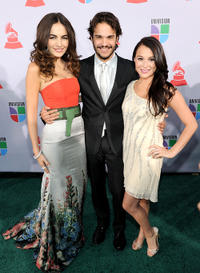 Camilla Belle, Kuno Becker and Alexa Vega at the 11th annual Latin GRAMMY Awards in Nevada.