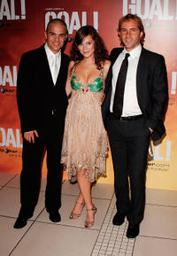 Kuno Becker, Anna Friel and Alessandro Nivola at the World premiere of